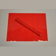 Fólie Matná - Červená  (50 ks)