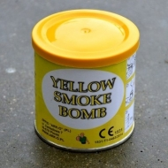 Yellow Smoke Bomb